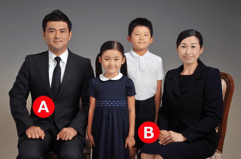 ご家族写真撮影のポイント