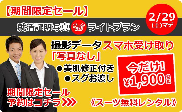 期間限定ライトプラン1900円