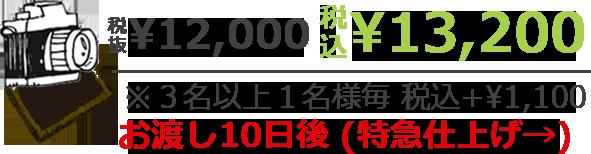 税抜¥12,000 税込¥13,200