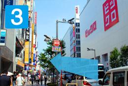 【写真】新宿東口地上より03